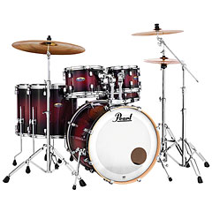 "Pearl Decade Maple 22"" Gloss Deep Red Burst Drumset « Batería"