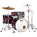 "Drum Kit Pearl Decade Maple 22"" Gloss Deep Red Burst Drumset"