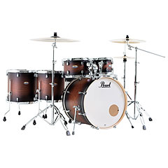 "Pearl Decade Maple 22"" Satin Brown Burst Drumset « Drum Kit"
