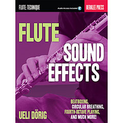 Hal Leonard Flute Sound Effects « Manuel pédagogique