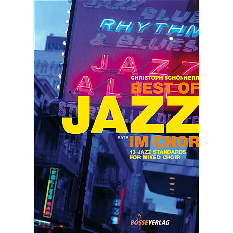 Partitions choeur Bosse Best of Jazz im Chor