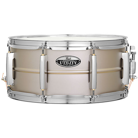 "Snare Drum Pearl Modern Utility 14"" x 6,5"" Steel Snare"