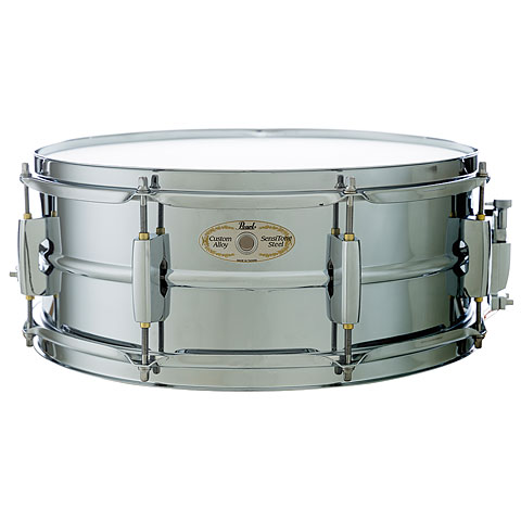 """Caja Pearl 14"""" x 5,5"""" Steel Shell Chrome Finish Limited Edition"""