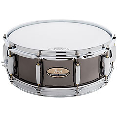 "Pearl 14"" x 5"" Black Nickel Limited Edition Steel Snare « Caisse claire"