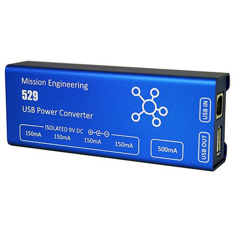 Alimentation guitare/basse Mission Engineering 529 USB Power Converter