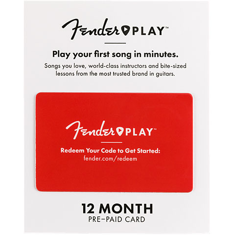 Article cadeau Fender Fender Play 12