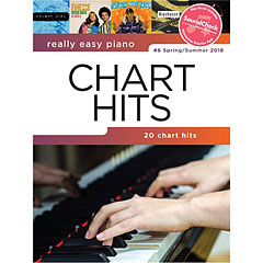 Music Sales Really Easy Piano - Chart Hits #6 Spring/Summer - 20 Chart Hits « Recueil de Partitions