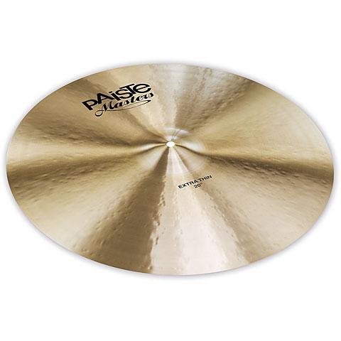 """Cymbale Crash Paiste Masters 20"""" Extra Thin Crash"""