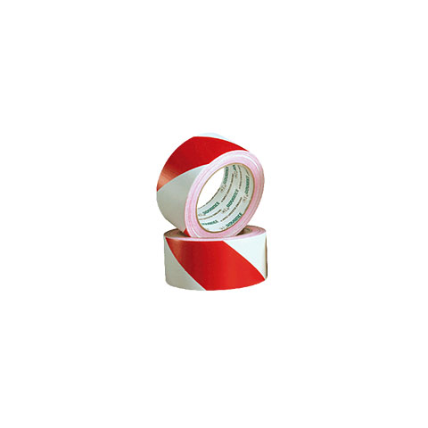 Adhesive Tape Advance Gaffa AT 8H Safety Tape red/white