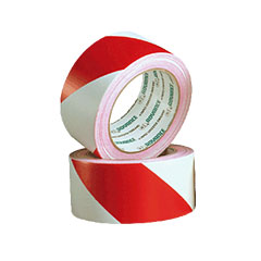 Advance Gaffa AT 8H Safety Tape red/white « Kleefband