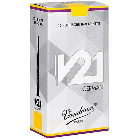 Blätter Vandoren V21 Clarinet German 1,5 Tradition
