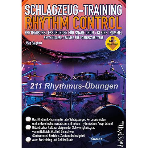 Libros didácticos Tunesday Schlagzeug - Training Rhythm Control