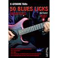 Lehrbuch Tunesday E-Gitarre Training - 50 Blues Licks (Heft + MP3-D)
