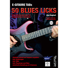 Tunesday E-Gitarre Training - 50 Blues Licks (+DVD) « Lehrbuch