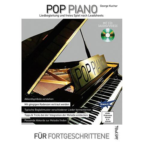 Libros didácticos Tunesday Pop Piano - Liedbegleitung und freies Spiel nach Leadsheets
