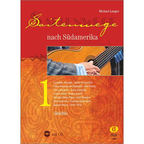 Libro de partituras Dux Saitenwege nach Südamerika 1