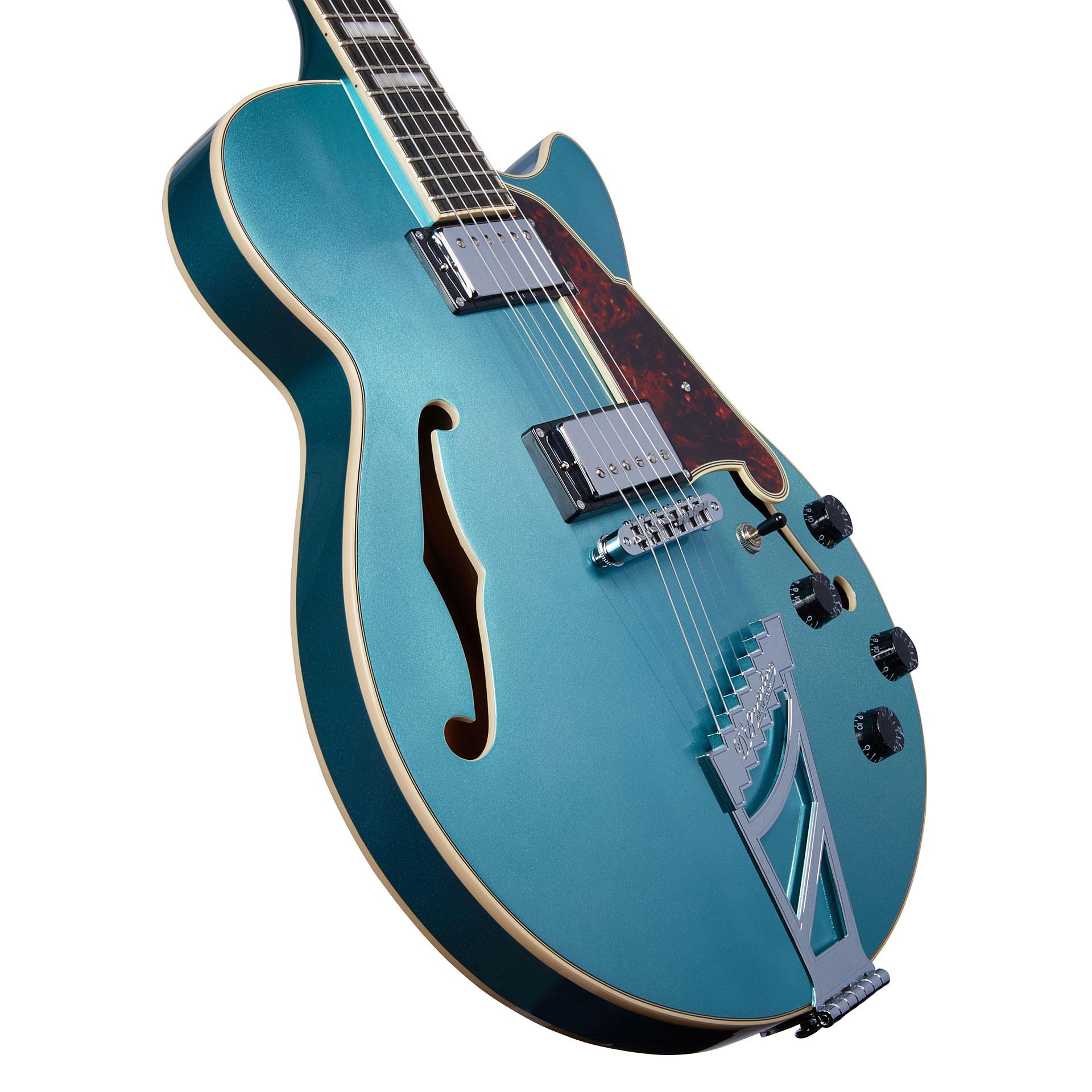 D/'Angelico 024 Plain Einzelsaite E-Gitarre Westerngitarre