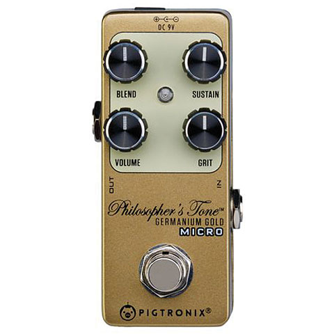 Effectpedaal Gitaar Pigtronix Philosophers Tone Germanium Gold