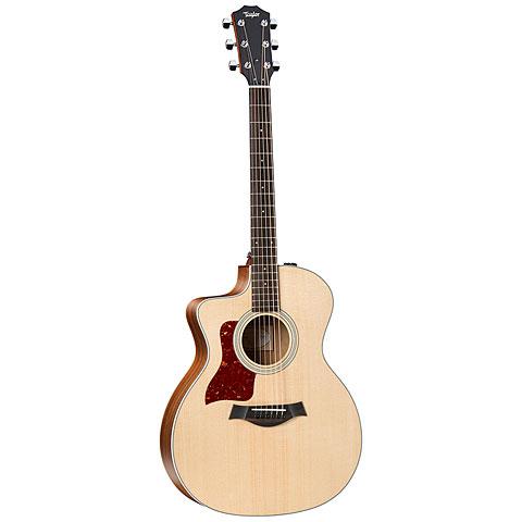 Guitare acoustique gaucher Taylor 214ce-K DLX LH