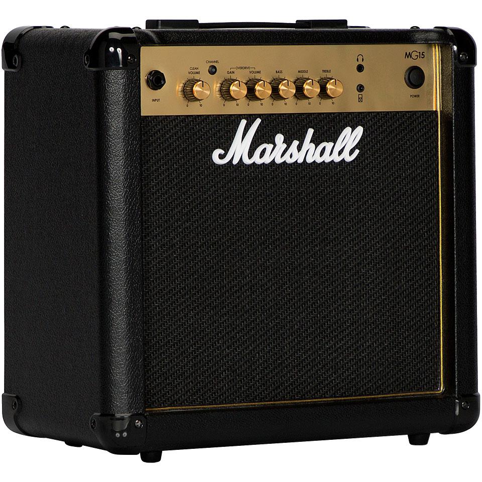 Verstaerker - Marshall MG15 E Gitarrenverstärker - Onlineshop Musik Produktiv