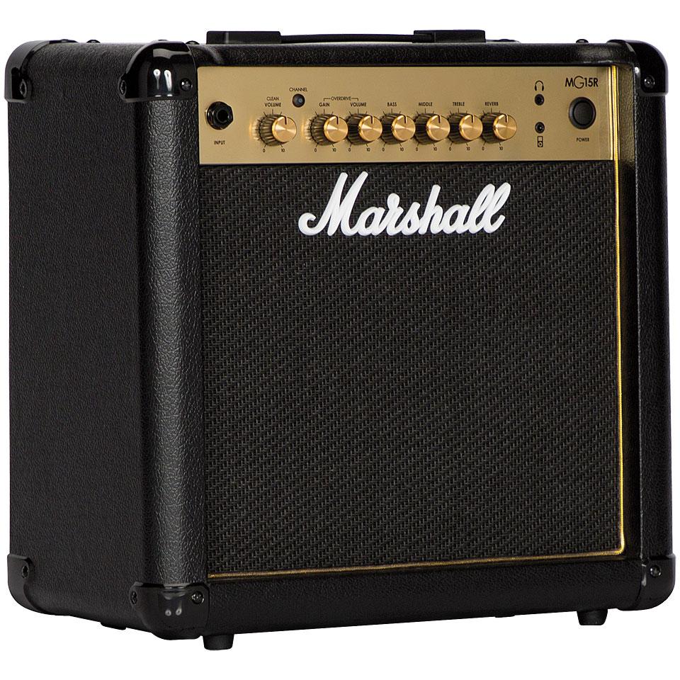 Verstaerker - Marshall MG15R E Gitarrenverstärker - Onlineshop Musik Produktiv