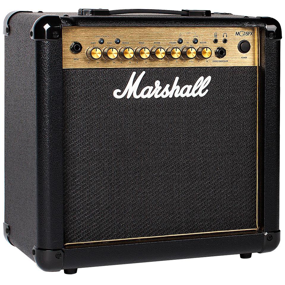 Verstaerker - Marshall MG15GFX E Gitarrenverstärker - Onlineshop Musik Produktiv