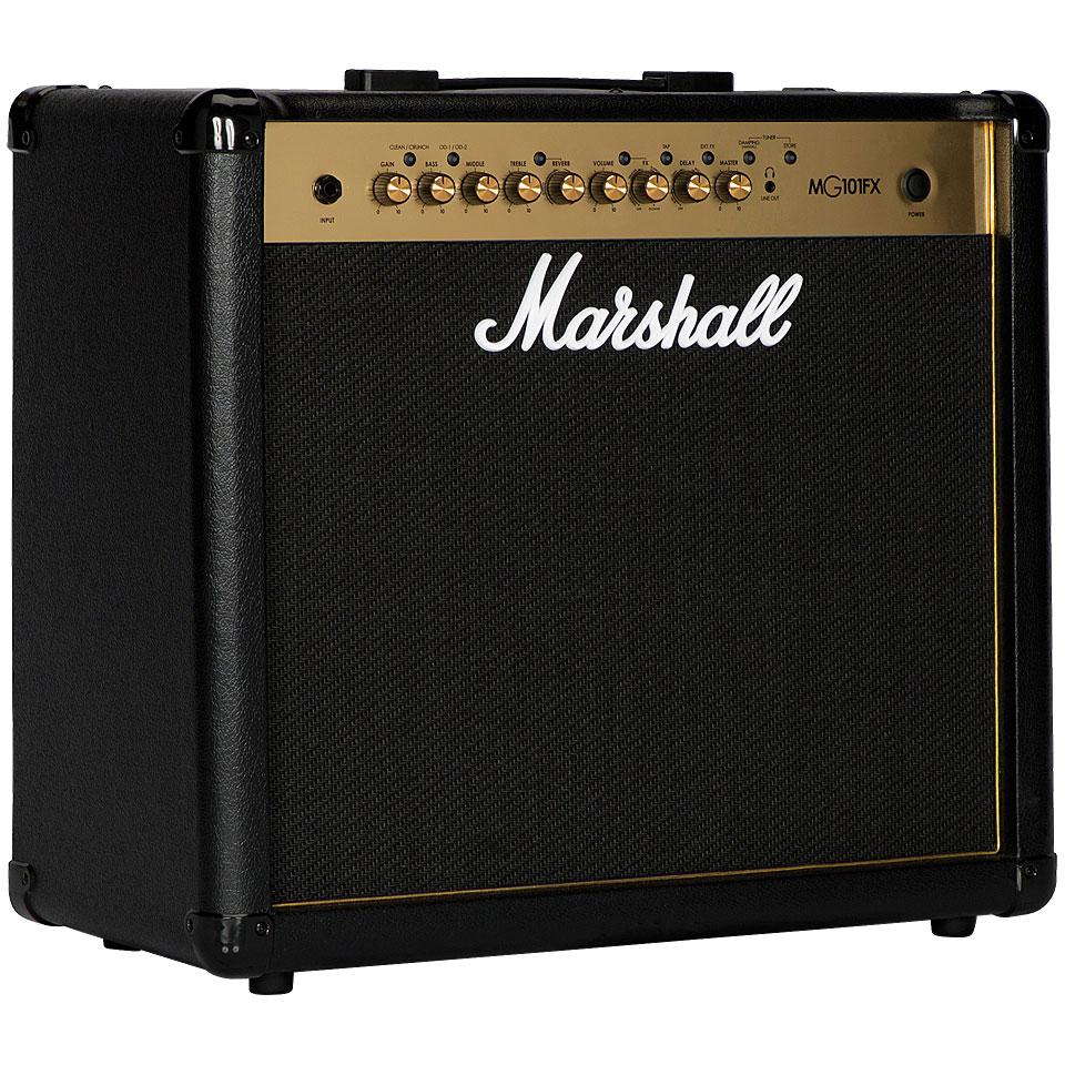 Verstaerker - Marshall MG101FX E Gitarrenverstärker - Onlineshop Musik Produktiv