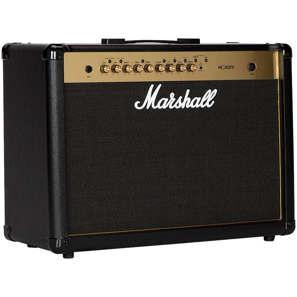Verstaerker - Marshall MG102FX E Gitarrenverstärker - Onlineshop Musik Produktiv