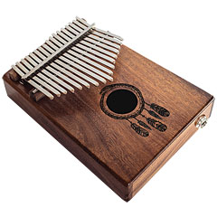 Terré Koa 17 Key Pick-Up Kalimba « Kalimba