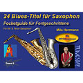 Tunesday Pocketguide - 24 Blues-Titel für Saxophon « Recueil de Partitions