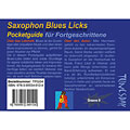 Notenbuch Tunesday Pocketguide - Saxophon Blues-Licks