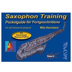 Tunesday Pocketguide - Saxophon Training « Notenbuch