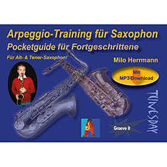 Tunesday Pocketguide - Arpeggio-Training für Saxophon « Recueil de Partitions