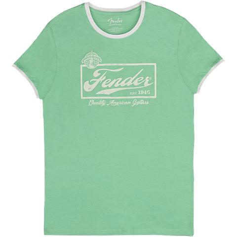 T-Shirt Fender Beer Label Ringer SFG/WT XL