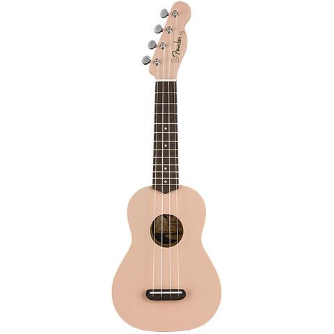 Fender Venice Soprano Shell Pink
