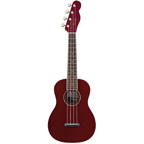 Ukelele Fender Zuma Candy Apple Red