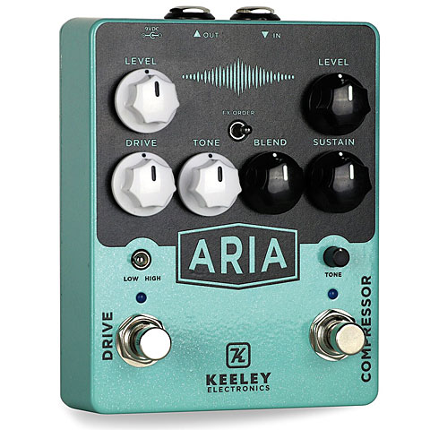 Effektgerät E-Gitarre Keeley ARIA