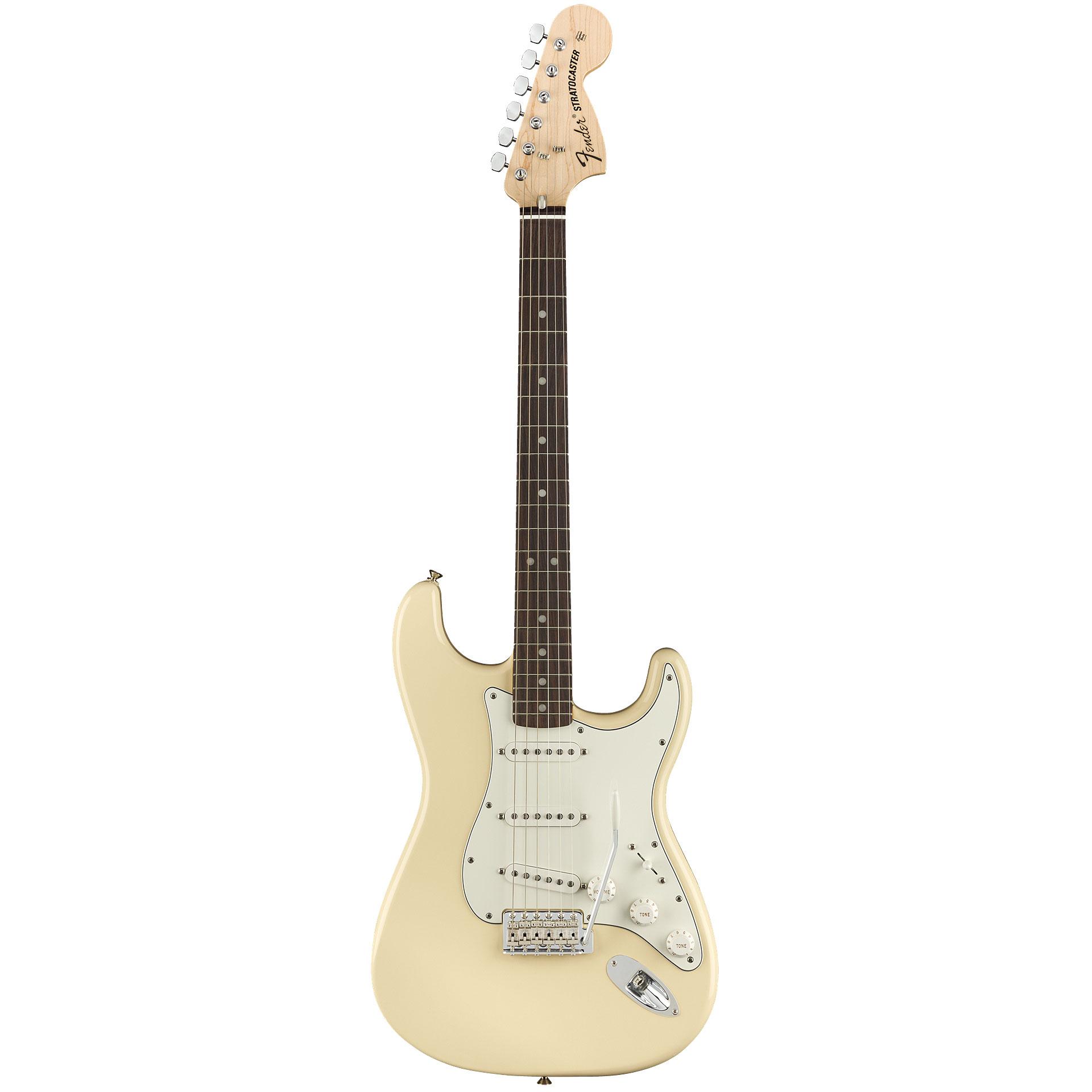 Fender Albert Hammond Jr. Stratocaster PR OWH « E-Gitarre