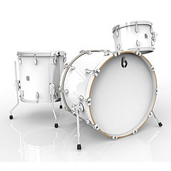 "British Drum Co. Legend 22"" Piccadilly White Shellset « Drumstel"