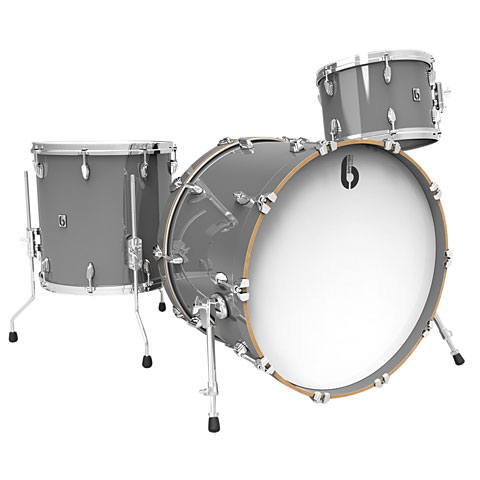 "British Drum Co. Legend 22"" Winchester Grey Shellset"