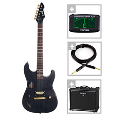 Slick SL 54 BK / Boss Katana 50 Bundle « E-Gitarren Set