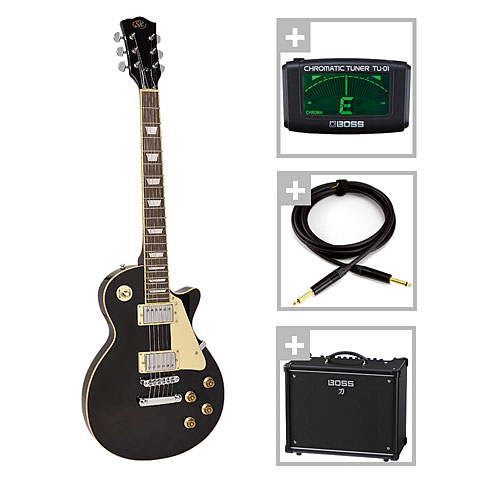SX Guitars SX EF3-BK / Boss Katana 50 Bundle