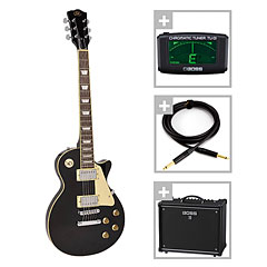 SX Guitars SX EF3-BK / Boss Katana 50 Bundle « Pack guitare électrique