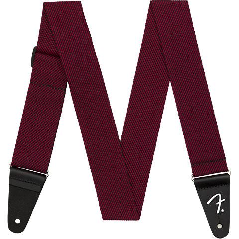 Fender Modern Tweed StrapBlack Red 5 cm