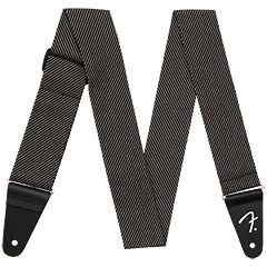 Fender Modern Tweed Strap Grey Black 5 cm « Schouderband