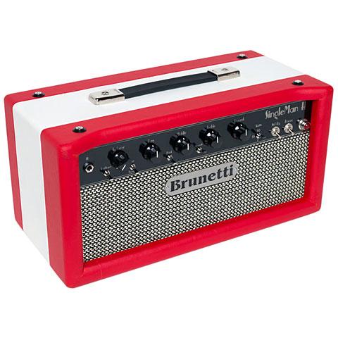 Topteil E-Gitarre Brunetti Singleman 50 Head Sonderfarbe
