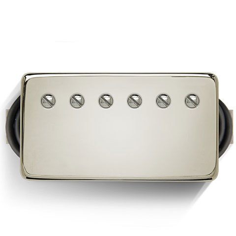 Micro guitare électrique Bare Knuckle Boot Camp Old Guard Bridge,50 mm Nickel Cover