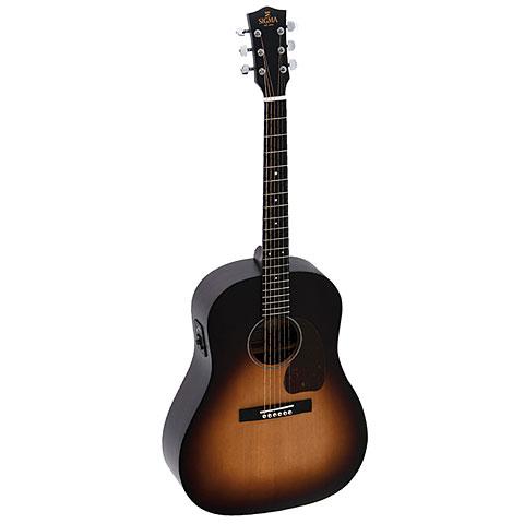 Westerngitarre Sigma Guitars JM-SGE+