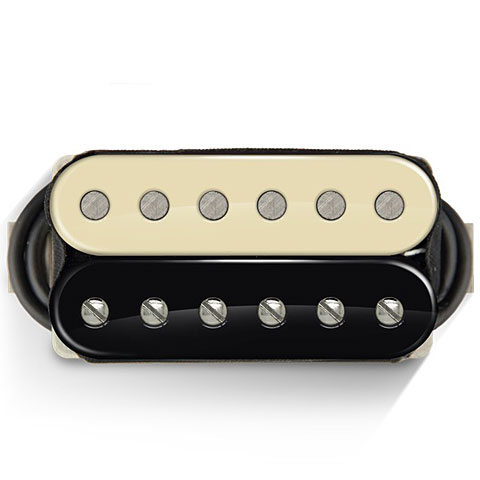 Micro guitare électrique Bare Knuckle Boot CampTrue Grit Bridge 50 mm Zebra