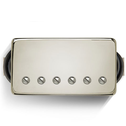 Micro guitare électrique Bare Knuckle Boot Camp True Grit Bridge 50 mm Nickel Cover